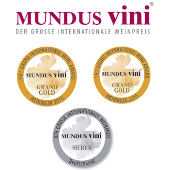 Mont Destin MUNDUS VINI results of 2014